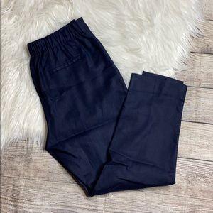 🛍J Crew Easy Stretch Linen Pant 8
